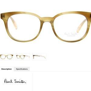 Paul Smith Adley Cat-Eye Eyeglasses Gold